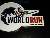 medal Wings for Life World Run