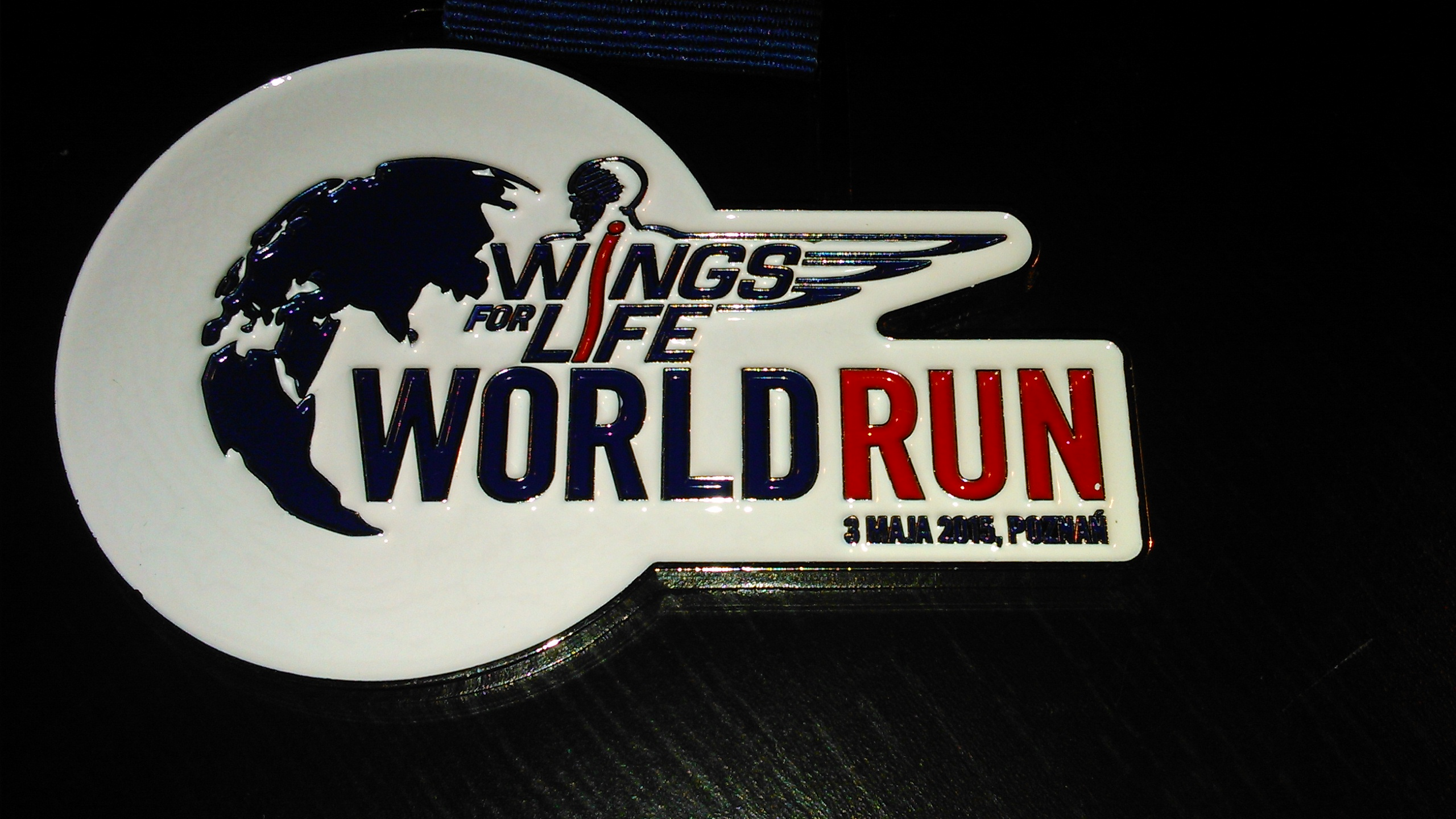 medal Wings for Life World Run