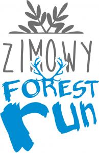logo zimowy forest run